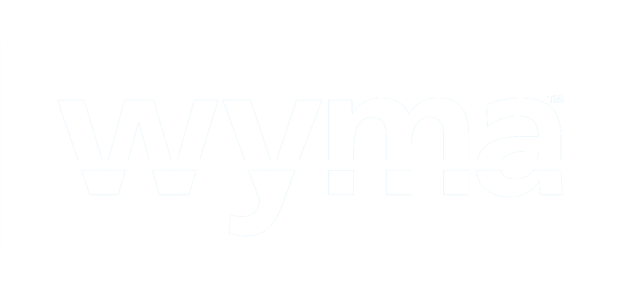 WYMA badge only inverse-web