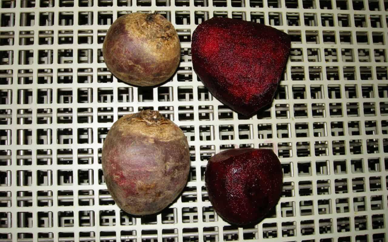 Peeled beets