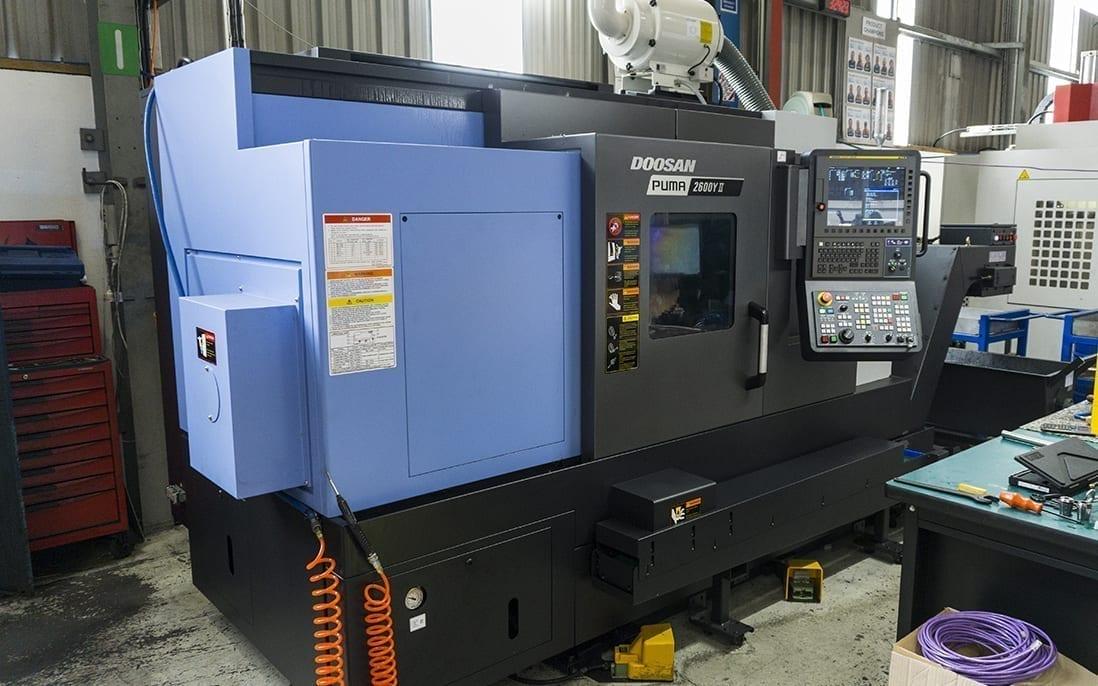 Meet our new Doosan CNC lathe