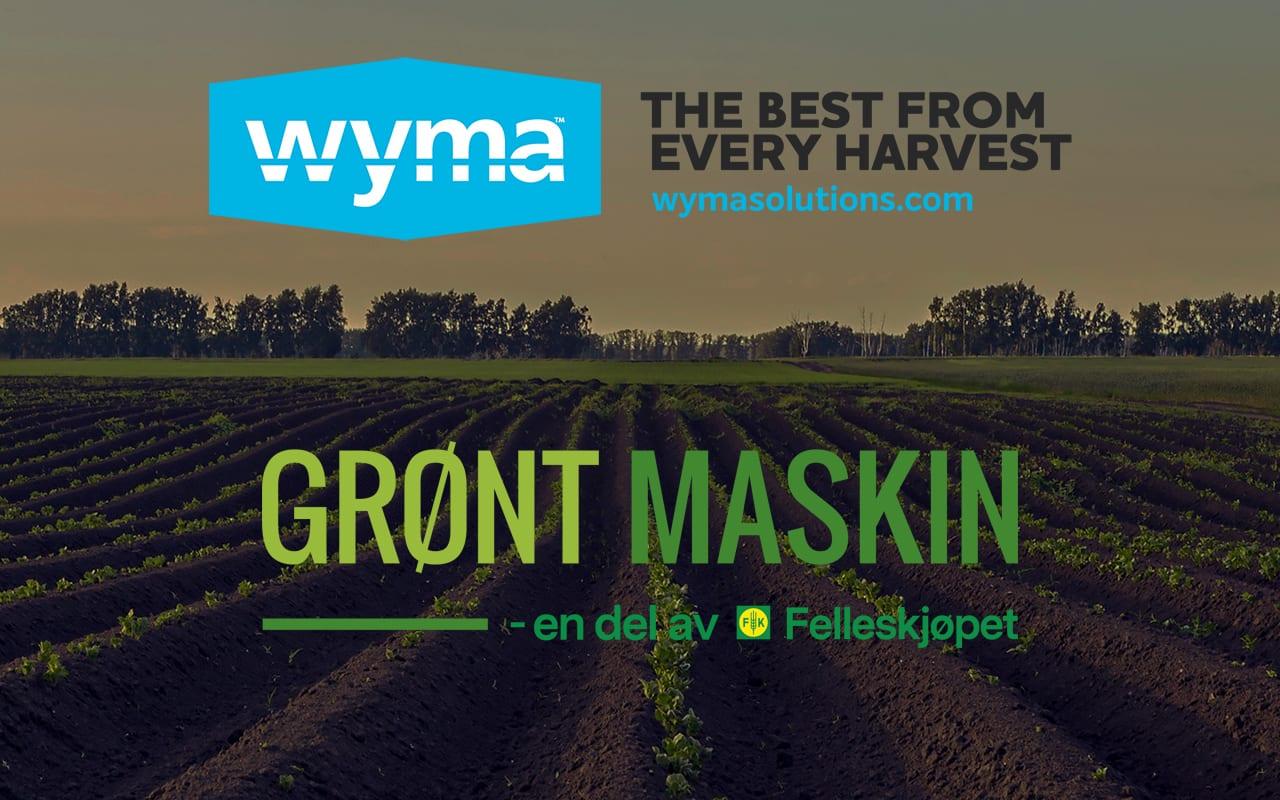 Wyma partners with Grønt Maskin to serve Norwegian market
