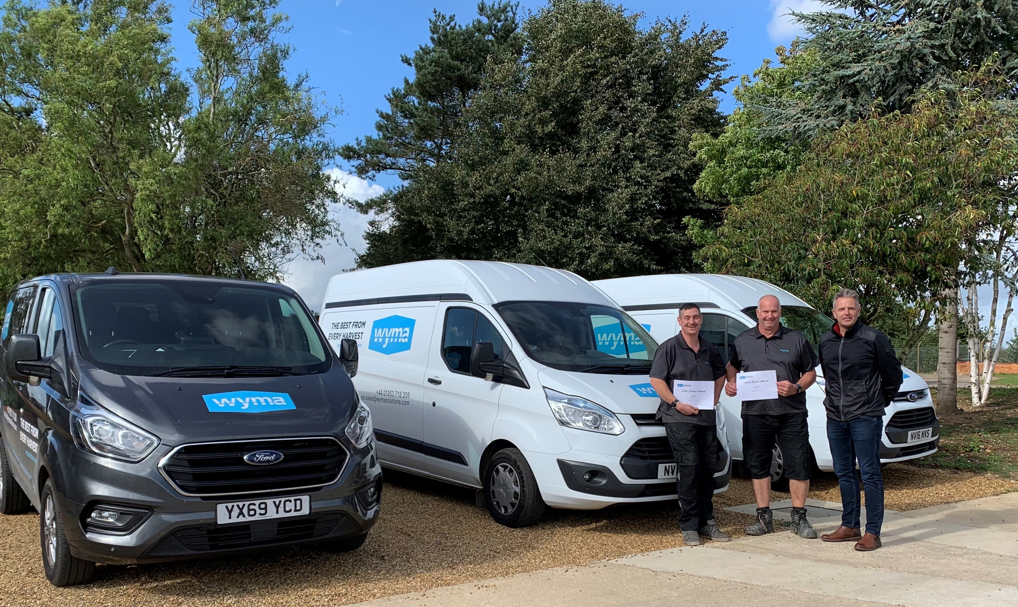 Wyma UK recognises the importance of dedicated service