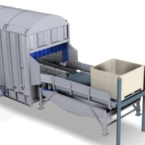 Hydro-Cooler for produce in bins