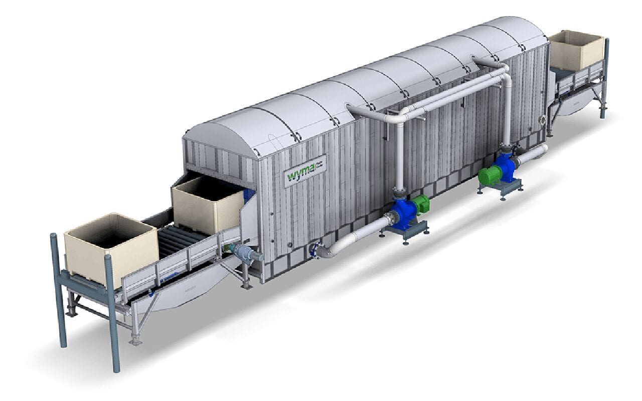Hydro‑Cooler for produce in bins