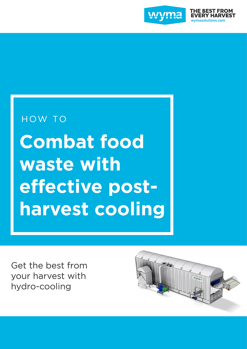 Combat food waste with effective post-harvest cooling