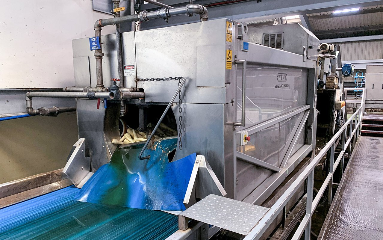 Two decades on, Wyma Vege-Polisher™ continues to impress